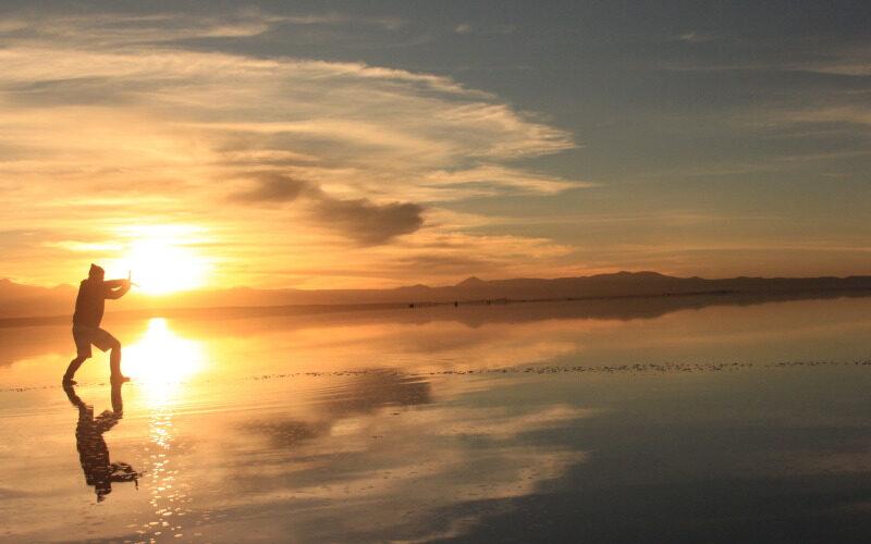 絶景!!ウユニ塩湖!