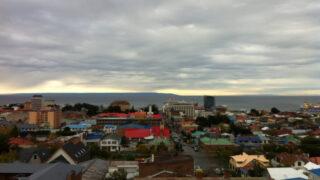 南米大陸最南端の街、プンタアレナス
